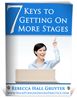 7 Keys to Getting on More Stages